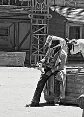 (ManuelAngel78) Tags: tabernas desiertodetabernas almera andaluca western spaguettiwestern fortbravotexashollywood cowboys fortbravo blackandwhite blancoynegro
