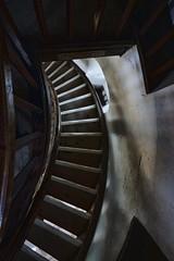 Trag den Kopf nicht allzu stolz (Gnter Hickstein) Tags: stairs treppe windingstairs wendeltreppe lighthouse leuchtturm treppenhaus uelzen gnterhickstein lindau hafen harbour bodensee lakeconstance