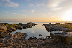 Morning by the Sea (Infomastern) Tags: simrishamn vrhallarna coast hav klipphll kust rock sea exif:model=canoneos760d exif:aperture=71 geocountry camera:make=canon exif:isospeed=100 camera:model=canoneos760d exif:focallength=18mm geolocation exif:lens=efs18200mmf3556is geostate geocity exif:make=canon