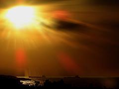 DSCN0149 West Pacific Sunset (tsuping.liu) Tags: outdoor nature natureselegantshots naturesfinest landscape lighting sky sun sunset serene seaside shore skyline shilhouette dusk depthoffield cloud