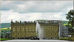 Emperor Fountain Chatsworth House. (Visual Photons) Tags: emperor fountain chatsworth highest england house hall peakdistrictnationalpark
