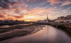 Ayr at Dawn, again (Strength) Tags: uwa ayr ayrshire town church river dawn sunrise nik bridge cityscape sky scotland