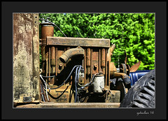 Power (the Gallopping Geezer 3.8 million + views....) Tags: vehicle truck car automobile transportation travel abandoned decay decayed worn faded rust rusty old classic vintage historic history masonmotors mason mi michigan upperpeninsula smalltown backroads rural country canon 5d3 tamron 28300 geezer 2016