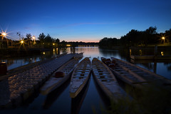 (donna leitch) Tags: bay water hamilton ontario twilight gloaming boats canon24105mmf4l longexposure lights donnaleitch summer