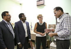 IMG_0989  Premier Kathleen Wynne toured RAM Plastics in Scarborough. (Ontario Liberal Caucus) Tags: scarborough industry thiru smallbusiness business