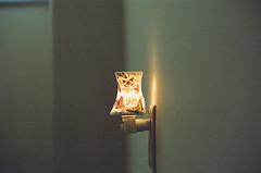 The Lamp that lights the night (s1ss0r) Tags: film canonae1 35mm lamp light retro backtofuture romance