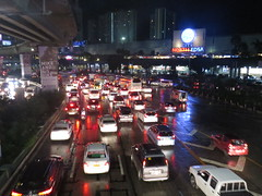 traffic nightmare (DOLCEVITALUX) Tags: traffic canonpowershotsx50hs trafficnightmare cars vehicles busses bus automobiles