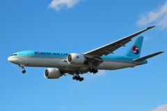HL8075 Boeing 777-FB5 KAL  LHR (Jetstar31) Tags: hl8075 boeing 777fb5 kal lhr