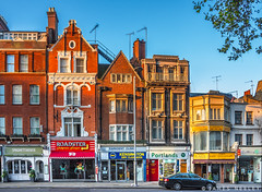 High Street (James Neeley) Tags: london southkensington shops jamesneeley