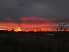Roma - il cielo sprigiona la rabbia che ha in corpo (lucio_Kayak) Tags: italy rome tramonti