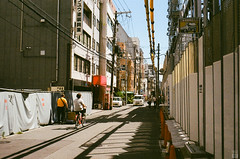 Afternoon/Osaka/Street (yasu19_67) Tags: minoltaminoltinap rokkor38mmf28 minolta 38mm film filmism filmphotography analog atmosphere photooftheday alley street kodak gold200 osaka japan