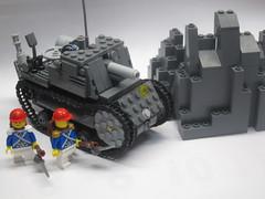 LEGO Self-propelled Infantry Gun Type 50 Ho-Wi ( ) (nunutsuki()) Tags: lego legomilitary legotank