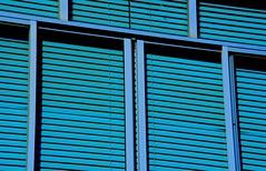 Blue Retro (E. Carver) Tags: blue azul american blinds persianas retro vintage