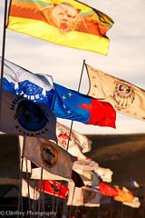 Tribal Flags of Native American Indians (OJeffrey Photography) Tags: sioux nodapl flags nativeamerican northdakota nd d500 nikon ojeffreyphotography ojeffrey jeffowens