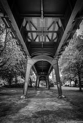 Perspective (martintimmann) Tags: blackwhite architecture hamburg brcke architektur bridge