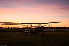 Dawn (Articdriver) Tags: aircraft stowmaries airfield dawn essex b2e ww1 raf sunrise