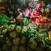 Women Vegetable Vendors, Pasar Keputran Market Surabaya Indonesia