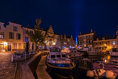 Goes by Night (frankwinkler1969) Tags: goes stadt city holland zeeland niederlande sony fe163540 nacht hafen dunkel town fe163514 night