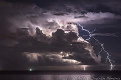 Bolt from the Blue (Dimitris_S.) Tags: lightning storm landscape nature photography stormscape severe weather nikon d7200 nikkor boltfromtheblue bolt