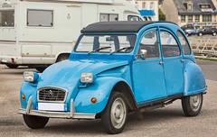 Ente (Seahorse-Cologne) Tags: frankreich france breizh concarneau auto ente citroen automobil blue blau oldtimer
