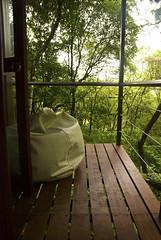 Tree house (trdastidar) Tags: india nikon balcony kerala treehouse wayanad kalpetta meppadi d80 lanternstay
