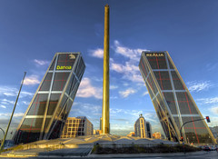 Puerta de Europa (Fil.ippo) Tags: madrid travel building architecture puerta gate europa europe towers sigma porta 1020 hdr filippo kio d7000