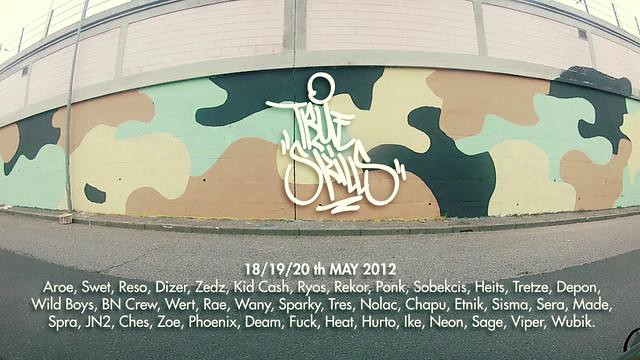5d2e215b1861 True Skills 2012 Graffiti on Vimeo by TRUE SKILLS (Beps BNcrew) Tags  wall