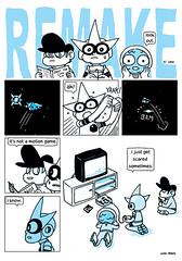 remake vs game (neo_rama) Tags: videogames remake gradius maxguy sickrick magmaboy comicsvsgames