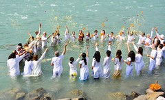 "Jai Ma Gange! Celebrating at the Ma Ganga Yoga Shakti Retreat • <a style=""font-size:0.8em;"" href=""http://www.flickr.com/photos/80108875@N05/7176936035/"" target=""_blank"">View on Flickr</a>"