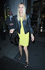 Tess Daly as Chloe Green previews her debut CJG shoe collection at Topshop Oxford Circus. London, England