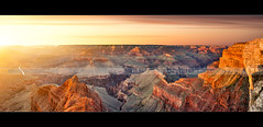 !!! 10000 px large !!! (Beboy_photographies) Tags: sunset arizona panorama usa de soleil coucher grand canyon ciel hdr panoramique tatsunis