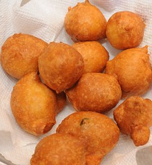 Mysore Bonda/ Bajji (Ponugupati) Tags: indian snack bonda maida apetizer mysorebonda