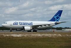 TS A310 C-GTSD (PlaneSnapper) Tags: fort air hollywood lauderdale airbus fl ts fll transat a310 cgtsd a3103