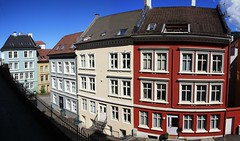 Sydnesgaten houses (mezod) Tags: panorama norway august bergen 2011 sydnesgaten