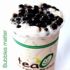 Bubbles addiction!! (TeaO&Crepes) Tags: square thailand bubbletea tea drink bangkok squareformat boba taiwanese pearltea pearlmilktea ngamwongwan teao iphoneography instagramapp