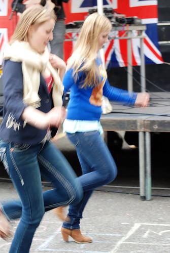 Offley Rd Jubilee party-hopscotch