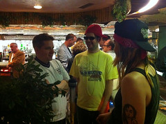 Chris Waddle, MCA, and Axl Rose