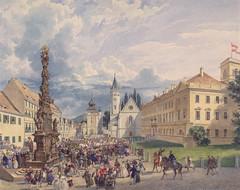 OLD PRINTS - TEPLICE 4 (beranekp) Tags: old history church czech alt kirche kostel teplice gurk teplitz