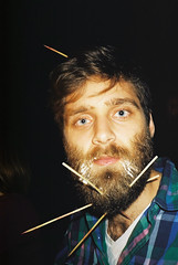 (Thomas van der Zaag) Tags: man beard fun skewers