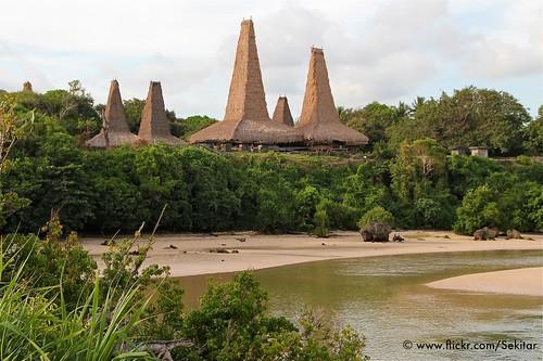 Kampung Ratenggaro, Sumba Barat, Indonesia