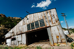 king coal warehouse (Sam Scholes) Tags: building abandoned digital utah nikon rust mine mining warehouse rusted coal decrepit damaged hiawatha d300 kingcoal kingmine usfco unitedstatesfuelcompany