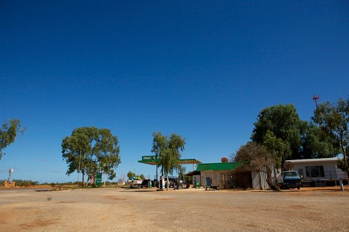 Wide View of Overlander Roadhouse