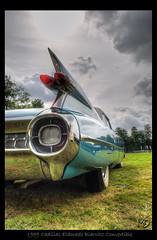 1959 Cadillac Eldorado Biarritz Convertible (Maarten O.) Tags: loo holland netherlands t nikon nederland convertible cadillac eldorado 1855mm nikkor hdr vr biarritz veluwe afs 59 1959 apeldoorn paleis fav1 f3556g tonemapped d3000