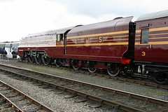 6229 Duchess of Hamilton at Railfest 2012 (Niftylonghorn) Tags: 6229 railfest duchessofhamilton railfest2012