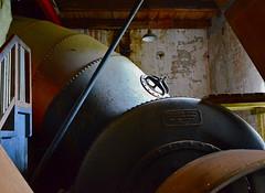 Pulp mill (AstridWestvang) Tags: museum turbine penstock pulpmill jevnaker buskerud kistefos