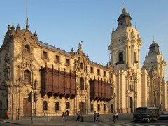 Cathedral of Lima (D-Stanley) Tags: peru cathedral lima catedral fachada faade