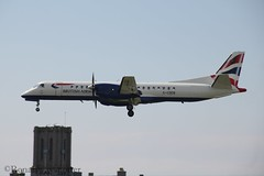 Eastern Airways SAAB 2000 G-CDEB (IOM Aviation Photography) Tags: man 2000 airways eastern saab isle 2012 ronaldsway gcdeb