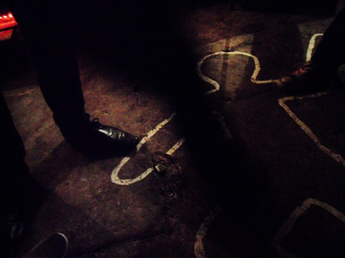 Murder scene, From FlickrPhotos