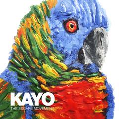 Kayo - The Escape Movement (seamz.ca) Tags: bird art photoshop painting graphicdesign retro albumcover hiphop kayo stlucia seamz