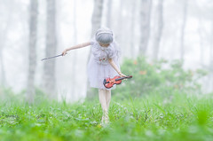 Foggy melody (AZURE_TB) Tags: fog birch dollfie nagano dollfiedream